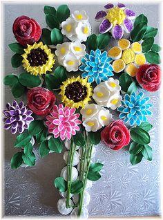 How beautiful is this flower cupcake bouquet Pull Apart Cupcake Cake, Pull Apart Cake, Cupcake Art, Cupcake Cakes, Fun Cakes, Cupcake Ideas, Cookie Ideas, Cupcake Recipes, Dessert Ideas