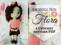 Amidoll No1  Flora Crochet Pattern PDF in English by TheMagicLooop