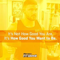 Like and tell us how good you want to be.  #motivation #inspiration #fitcrunch #fitcrunchbars #fitcrunchbar #teamfitcrunch #fitness #fit #healthy #instafit #fitfam  @dylanbair_rd