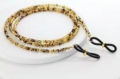 Tortoise Eyeglass Chain-Eyeglass by Maetri on Etsy