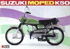 Suzuki K50 Moped