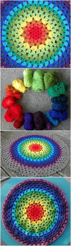 Epic Crochet Granny Mandala - 60+ Free Crochet Mandala Patterns - Page 2 of 12 - DIY & Crafts