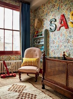 Casa Kids, Fantasy Bedroom, London House, Victorian Homes, Victorian Terrace Interior, Kids Bedroom, Bedroom Ideas, Bedroom Bed, Beautiful Homes