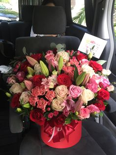 Morning flower delivery... by Bloomwood Florist Jakarta