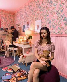 Oh My Girl Yooa, Girls Channel, Girls Season, Fans Cafe, Kpop, K Idols, Summer Girls, Bean Bag Chair, Dancer