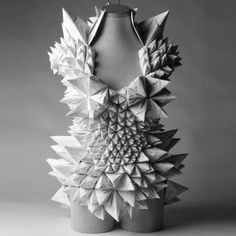 « Newer story      Older story »    Ecstatic Spaces by  Ecstatic Spaces by Tara Keens Douglas  ♦  Trinidadian architect Tara Keens Douglas presented a series of carnival costumes made from folded paper