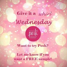 If I've never given you a Perfectly Posh sample to try, now is the time! Contact me & I'll send you a great pampering, spa-quality sample to try :)