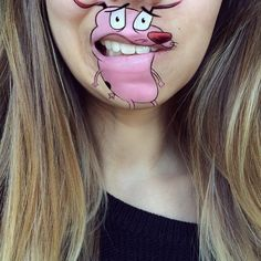 Makeup Artist Continues Transforming Her Mouth to Look Like Beloved Cartoon Characters - My Modern Met