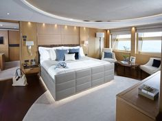 Princess Yachts International has released brand new photography of its latest M Class yacht, the 40M Solaris. Browse the full gallery of interior and exterior images on the Princess Yachts website - www.princessyachts.com/mclass/princess-40m/gallery.