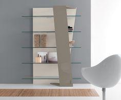 Compar Design Wand Bücherregal Book