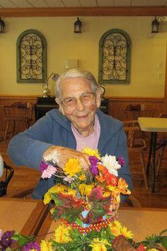 Resident Artist: Flora - Heritage at Dover Senior Living Community, DE