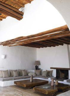 Beautiful white and Wood interior