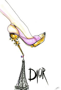 Illustration   Women's Fashion   Shoes