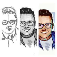 "123 aprecieri, 1 comentarii - ELIANA BOGDAN (@elianabogdan) pe Instagram: ""Steps👣 #illustration #digitalart #portrait"""