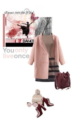 """""""Dance into the wind. You only live once......"""" by no-where-girl ❤ liked on Polyvore featuring RED Valentino, Miss Selfridge, Steve Madden, GUESS and Fendi"""