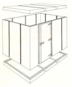 Refrigeração UNIFRIO - camara frigorifica, Camara Fria, camara fria em Santa catarina - Câmaras pré-moldadas