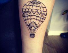 Tatuagem de Balões