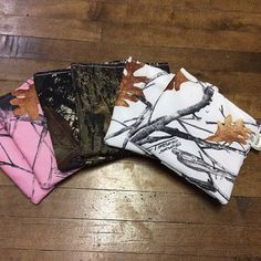 Unique Camo Snack Bags  6 Pack by KaanisKreations on Etsy