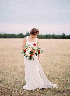 Alpaca Wedding Editorial - Lindsey Brunk