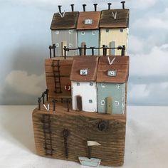 "Shabby Daisies (@lorainespick) on Instagram: ""Harbour Terrace #shabbydaisies #shabbychic #nautical #littlehouse #driftwoodart #driftwood…"""