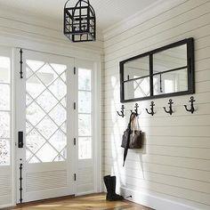 Anchor Coat Hooks, Cottage, entrance/foyer, Muskoka Living