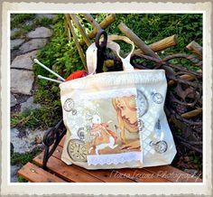 Alice nel Paese delle Meraviglie  - DIY - BAG