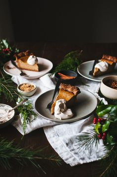 Cozy up to this Brown Butter Pumpkin Pie recipe for the holidays!