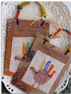 Thanksgiving preschool keepsake