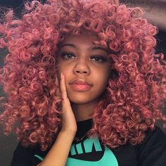 NFL gang is facing the streets they in live with the streets and soon… #fanfiction #Fanfiction #amreading #books #wattpad Dyed Curly Hair, Dyed Natural Hair, Curly Girl, Curly Hair Styles, Natural Hair Styles, Baddie Hairstyles, Cool Hairstyles, Hair Wax, Playing With Hair