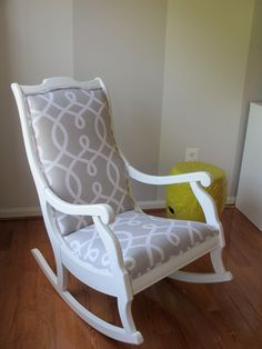 Aesthetic Oiseau: Rocking Chair Makeover