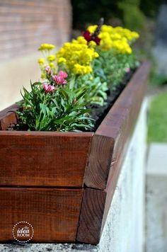 DIY flower-planter