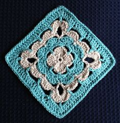 "Ravelry: Project Gallery for Shell Collection 6"" Granny Square pattern by Shelley Husband"