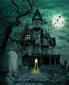 She stands in the doorway, awaiting the return of a ghost of a memory.  All that she sees is a faded and pale version of what once was approaching she closes the door, and refuses to let the ghostly memory in her life.