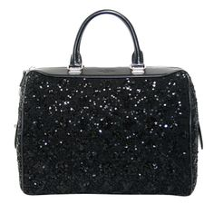 Louis Vuitton Black Sequin Sunshine Express Speedy Bag | From a collection of rare vintage handbags and purses at http://www.1stdibs.com/fashion/accessories/handbags-purses/