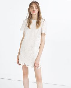 EMBROIDERED DRESS-View All-DRESSES-WOMAN | ZARA United States