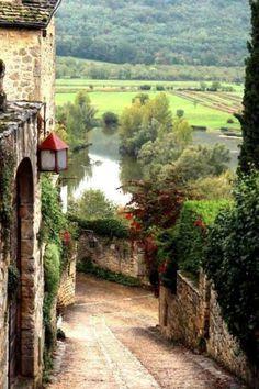 calle en La Toscana