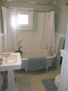 An after picture of a bathroom remodel Badgerland Restoration and Remodeling Inc.