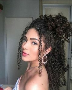 """""""Cathy"""" Kinky Curly Lace Wigs Indian Virgin Hair Related Best Naturally Curly Hair Everyday Hair Updo Tutorials For Beautiful Hairstyle Suggestions Every Woman Will Find Curly Bob Wigs, Curly Hair With Bangs, Short Curly Hair, Short Hair Styles, Natural Hair Styles, Updo Curly, Curly Girl, Style Curly Hair, Wavy Hair"""