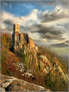 Château du Girsberg, Alsace, France.  Photo: Jean-Michael Priaux via Flickr