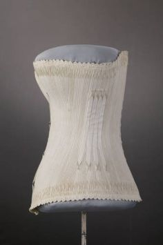 Corset 1887 The Chicago History Museum