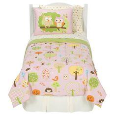 Target -- $60 for comforter, 2 pillowcases, sheets, 2 shams