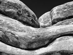 Sandstone Fine Art Photography print black and by ScottWurzel