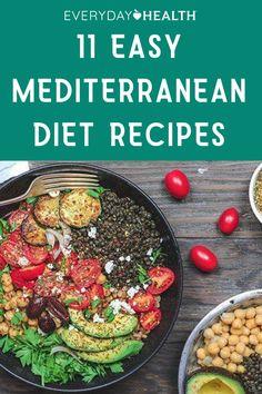 Mediterranean Breakfast, Easy Mediterranean Diet Recipes, Mediterranean Dishes, Simple Recipes, Healthy Recipes, Health 2020, Counting Carbs, Garlic Recipes, Whole Grain Bread