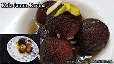 Kala Jamun Recipe |How To Make Kala Jamun | Khoya Gulab Jamun Recipe In ...
