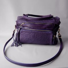 handmade leather purse by valhallabrooklyn