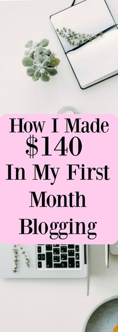 Find out how I made my first income in my very first month of blogging!