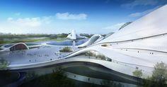 harbin cultural center by MAD architects - designboom   architecture & design magazine