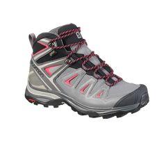 Scarpe donna X ULTRA MID GTX grigie. Hiking Sport di Montagna ... 838efa79200