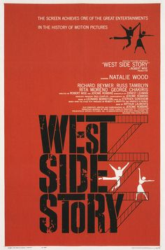 """West Side Story"" (1961) by Saul Bass"