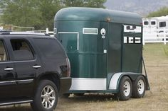 Time to tune up your trailer for summer?s trail-riding adventures. A well-maintained trailer will be safer for both you and your horse than one in shoddy shape.s a handy checklist. Equestrian Outfits, Equestrian Style, Trail Riding, Horse Riding, Horse Transport, Massage, All About Horses, Horse Ranch, Horse Tips